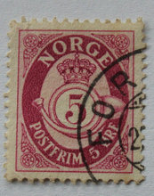 Norge - AFA 180 - Stemplet