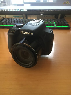 how to use the canon sx 60 hs