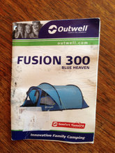 "Telt 3 personers ""Outwell  Fusion Popup"""