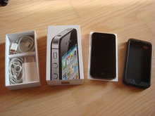Iphone 4S Sort