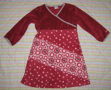 H&M Minnie Mouse kjole i velour, 98