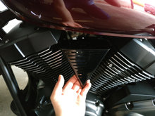 Yamaha xvs 950 Low & Mean coil cover