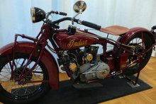Indian eller Harley Davidson før 1935
