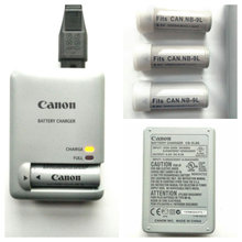 Canon oplader CB-2LBE, NB-9L