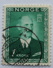 Norge - AFA 329 - Stemplet