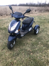 3 hjulet invalide scooter