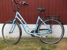 Exclusive City By Mustang  luxus cykel