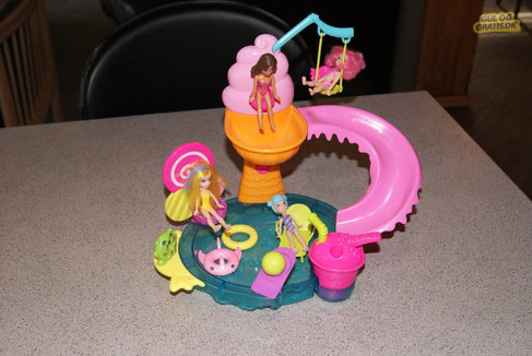 Polly Pocket swimmingpool, billede 1
