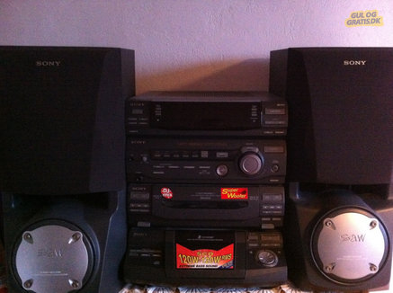 Sony Compact Hi-Fi Stereo System , billede 1