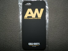 Sort Call of Duty iPhone 5/5S/SE cover