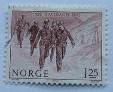 Norge - AFA 724 - Stemplet