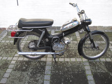 Puch MS i original stand