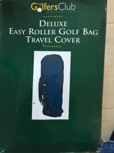 DELUXE EASY ROLLER GOLF BAG TRAVEL COVER