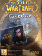 WOW gamecard 60 day