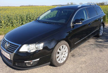 Sort Passat Variant Highline DSG TDI