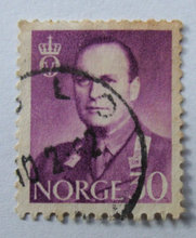 Norge - AFA 445 - Stemplet
