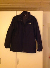 Skijakke  North Face sort