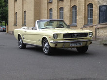 Ford Mustang 1966 Convertible  289cui V8