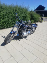 HD Dyna super glide costum vinterpris
