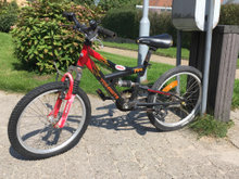 Mountainbike suspension cykel