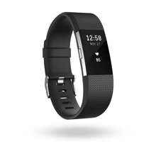 Fitbit Charge 2 i sort