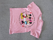 Mickey & Minnie T-shirt i str. 6 - 8 år