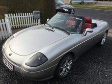 Barchetta cabriolet limited edition