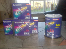 Cd- Recordable Fujifilm  52x700 Mb