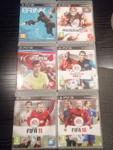 Ps3-spil, fifa, mm.