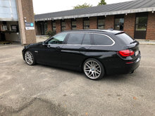 BMW 520d Touring 184hk sort