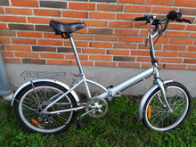 "7 gears Foldecykkel ""folding Bike"""