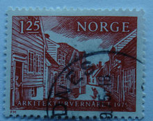 Norge - AFA 715 - Stemplet