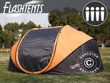 Campingtelt  Festivaltelt Pop-up, FlashTents®, 4 p