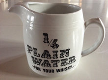 1/4 plain water - FOR YOUR WHISKY