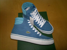 Nye Lacoste high canvas sneakers.Str.30