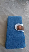 Denim cover til sony ericsson xperia x