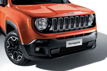 Sort Jeep styling