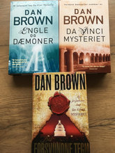 Dan Brown Bøger Hard Back