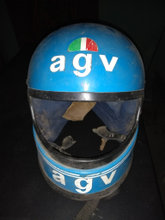 AGV styrthjelm, X15S Super Johnny