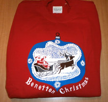 Jul - Christmas sweatshirt