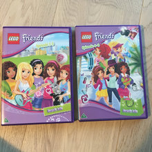 2 Lego Friends dvd film, 6 afsnit i alt