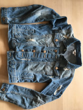 Zara denim jakke