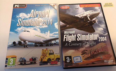 Flightsimulator 2004 + Airportsimulator , billede 1