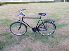 big and comfortable bike for men, 5 gear
