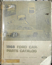 Parts Catalog 1968 Ford .