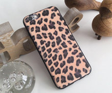 Leopard silikone cover iPhone 6 6s 7 8 X