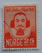 Norge - AFA 348 - Stemplet