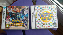 Pokemon Link & Pokemon Conquest NDS 2DS