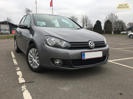 VW GOLF VI HIGHLINE - DSG - PARK.SENSOR, billede 1