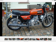 Suzuki RE5 Wankel - Orange 1975